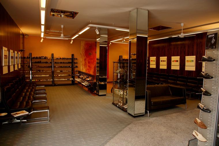 Verkaufsraum von Landmann internationale Schuhmode GmbH